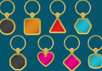 Golden Key Holders - Free vector #350007