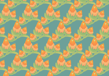 Free Protea Vector Pattern Illustration - Kostenloses vector #350097