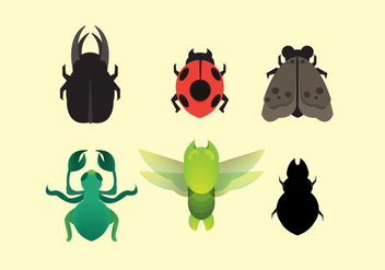 Free Termite and Insect Icon Vector - vector gratuit #350107