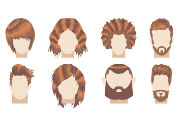 Coiffure Illustration Vector - бесплатный vector #350157