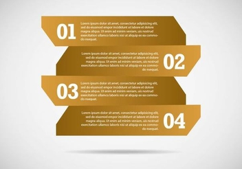 Abstract Infographic Banner Template - vector #351357 gratis