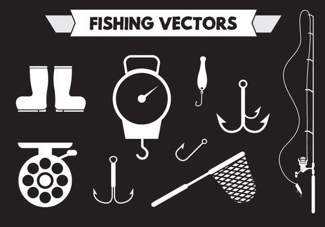Fishing Vectors - Free vector #351747