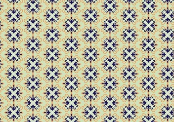 Decorative Pattern Vector - Kostenloses vector #352327