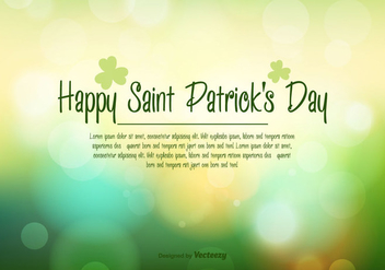 St Patricks Day Vector Illustration - Kostenloses vector #352497