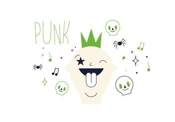 Free Punk Vector - Free vector #352517