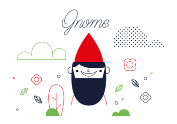 Free Gnome Vector - Free vector #352567