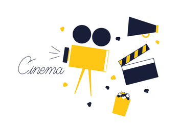 Free Cinema Vector - Free vector #352597