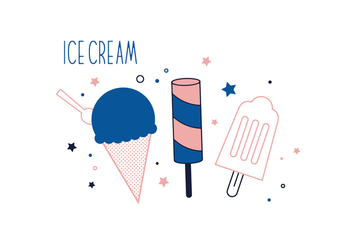 Free Ice Cream Vector - бесплатный vector #352637