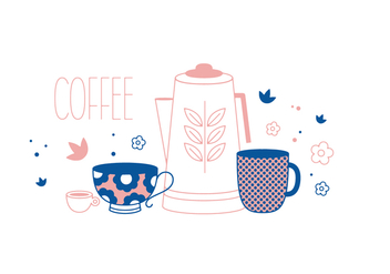 Free Coffee Vector - vector gratuit #352657
