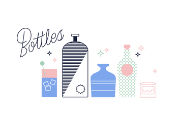 Free Bottles Vector - Free vector #352667