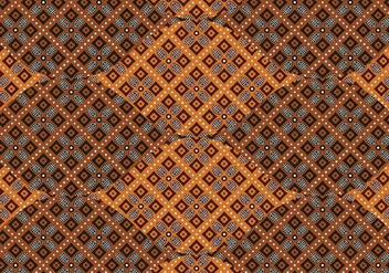 Batik Background Vector - Free vector #352697