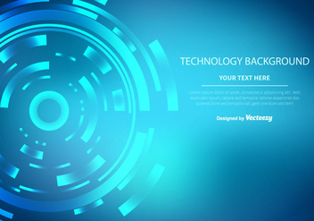 Technology Vector Background - vector gratuit #352757