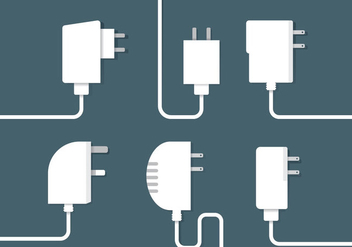 Phone Charger Vector - Free vector #352767