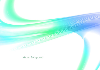 Free Colorful Wave Vector - vector gratuit #353047