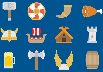 Viking Vector Icons - Free vector #353127