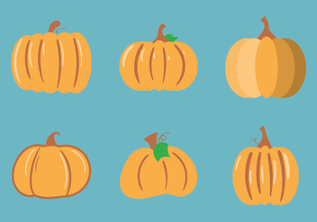 Free Pumpkin Patch Vector Illustration - Free vector #353147