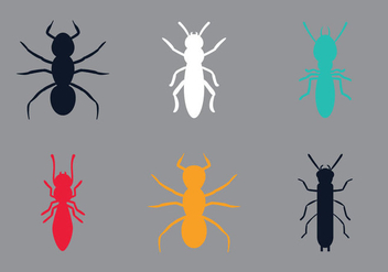 Free Termite Vector Illustration - Free vector #353237