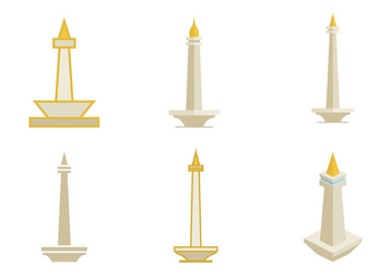Monas Illustration Vector - vector gratuit #353277