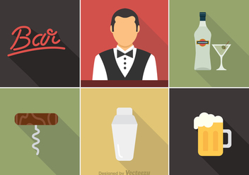 Free Barman Vector Icons - бесплатный vector #353367
