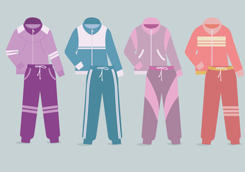 Tracksuit Vector - Free vector #353427