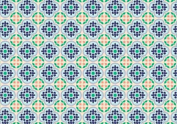 Mosaic Decorative Pattern Vector - Free vector #353457