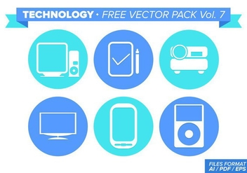 Technology Free Vector Pack Vol. 7 - Kostenloses vector #353567
