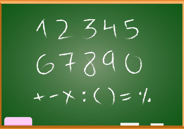 Free Hand Drawn Math Vector - бесплатный vector #353817