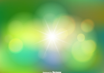 Blurred Abstract Vector Background - Kostenloses vector #353917