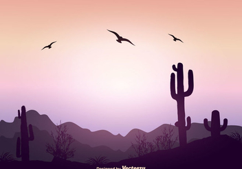 Beautiful Landscape Vector Illustration - vector gratuit #354107
