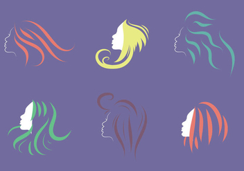 Free Coiffure Vector Illustration - Kostenloses vector #354127
