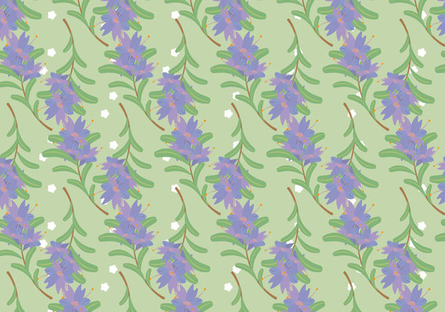Free Thyme Vector Pattern #4 - Free vector #354337