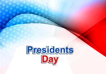 Presidents Day In United States Of America - vector #354747 gratis