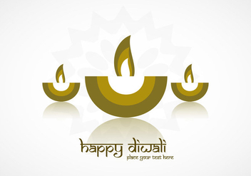 Happy Diwali Car - vector gratuit #354887