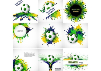 Banner For Soccer Sport - Free vector #354897