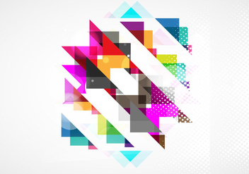 Abstract Colorful Pattern - vector #354997 gratis