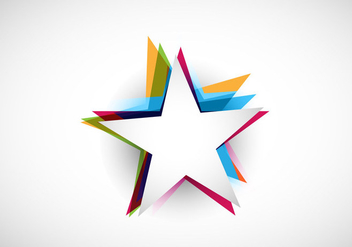 Abstract Colorful Stars - vector #355137 gratis