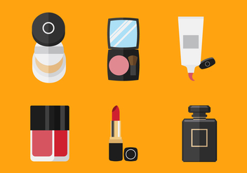 Vector Make Up Tools - Kostenloses vector #355247