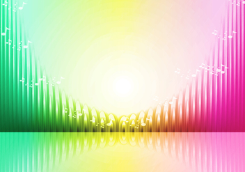 Sound Bars Vectorial Illustration - vector gratuit #355297