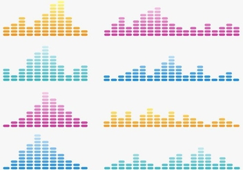 Free Vector Sound Waves - бесплатный vector #355317