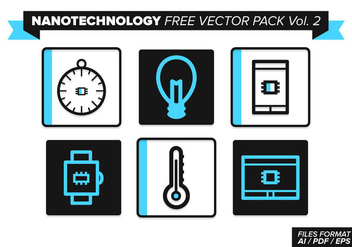 Nanotechnology Free Vector Pack Vol. 2 - vector gratuit #355477