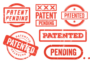 Patent Grunge Stamps - Kostenloses vector #355677