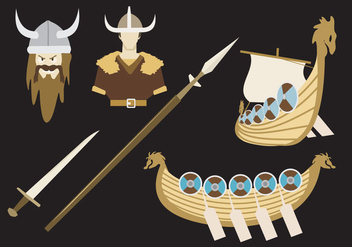 Viking Legend Vector - Free vector #355877