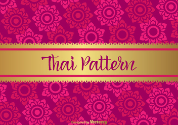 Thai Vector Pattern - Free vector #356297