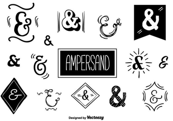 Ampersands Vector Set - Kostenloses vector #356647
