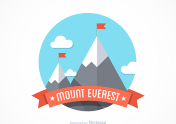Free Mount Everest Vector Design - бесплатный vector #356717