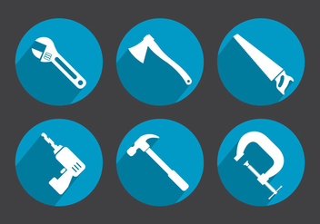 Tool Vector Icons - vector gratuit #356947