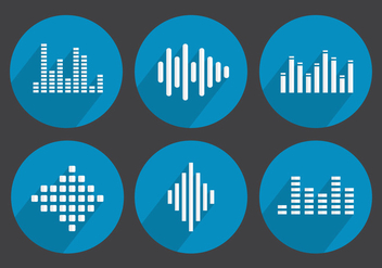 Vector Sound Bars - vector gratuit #356987