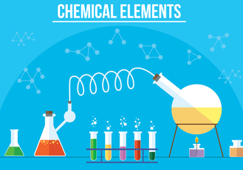 Free Vector Chemical Elements - бесплатный vector #357297