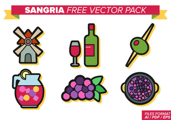 Sangria Free Vector Pack - Free vector #357537