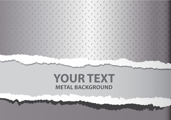 Metal Tear Background - vector #357557 gratis